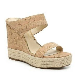 Cork Wedge Sandals by Jessica Simpson